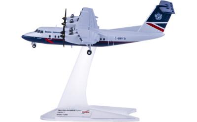 Herpa 1:200 British Airways 英国航空 De Havilland Canada DCH-7 G-BRYD