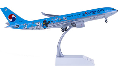 Korean Air 大韩航空 Airbus A330-200 HL8227 平昌冬奥会彩绘