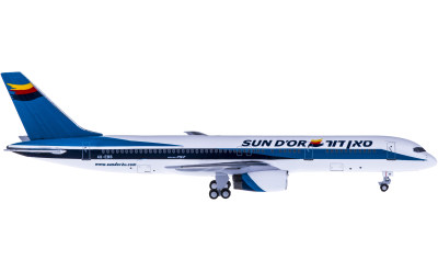 Sun d'Or International Airlines Boeing 757-200 4X-EBS