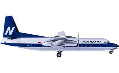 Nordair 加拿大北方航空 Fokker F-27 CF-NAJ