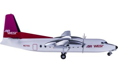 Air West Fokker F-27 N2706