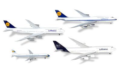 Lufthansa 汉莎航空 Airbus A321 Boeing 747-8 4架套装