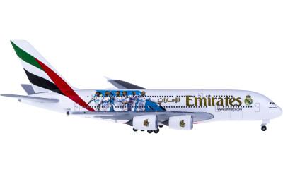 Emirates 阿联酋航空 Airbus A380 A6-EUG 皇家马德里