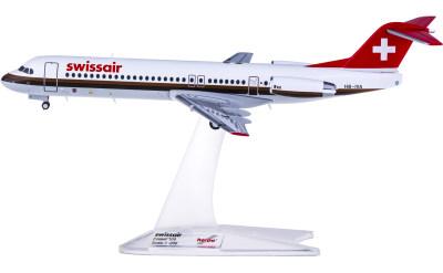Swissair 瑞士航空 Fokker 100 HB-IVA