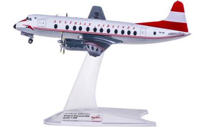 Austrian Airlines 奥地利航空 Vickers Viscount 800 OE-LAH