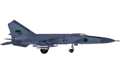 Libyan Air Force 利比亚空军 Mikoyan Gurevich MiG-25PD 6716
