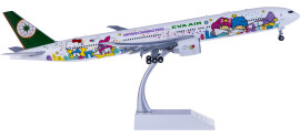 EVA Air 长荣航空 Boeing 777-300ER B-16722 星空机 襟翼打开