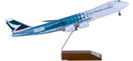 Cathay Pacific 国泰航空 Boeing 747-8 B-LJA 货机 贸易者彩绘
