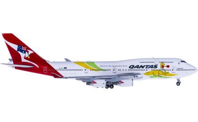 JC Wings 1:400 Qantas 澳洲航空 Boeing 747-400ER VH-OEJ 奥运彩绘