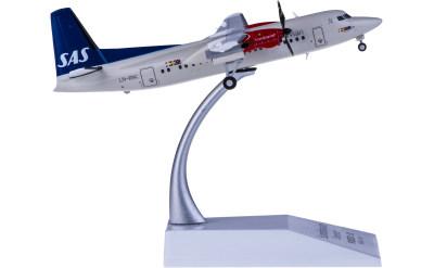 SAS 北欧航空 Fokker 50 LN-RNC