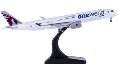 Qatar 卡塔尔航空 Airbus A350-900 A7-ALZ 襟翼打开