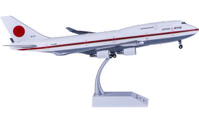 JASDF 日本航空自卫队 Boeing 747-400 20-1101 日本政府专机