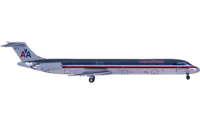 Geminijets 1:400 American Airlines 美国航空 McDonnell Douglas MD-80 N9621A