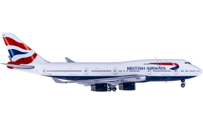 Geminijets 1:400 British Airways 英国航空 Boeing 747-400 G-BYGF