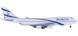 El Al 以色列航空 Boeing 747-400 4X-ELB