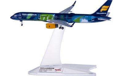 Herpa 1:400 Icelandair 冰岛航空 Boeing 757-200 TF-FIU 极光