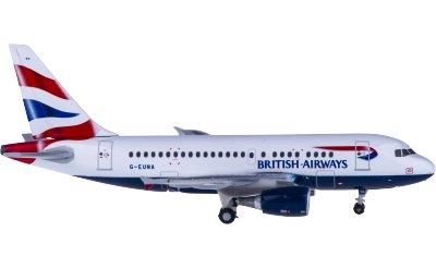 Herpa 1:400 British Airways 英国航空 Airbus A318 G-EUNA