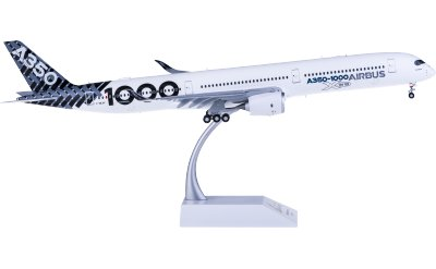 JC Wings 1:200 Airbus A350-1000 F-WLXV 襟翼打开