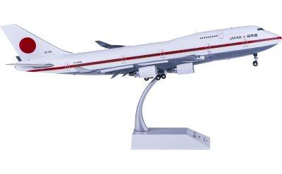 JASDF 日本航空自卫队 Boeing 747-400 20-1102 日本政府专机 襟翼打开