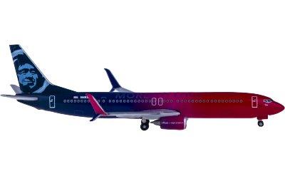 Alaska Airlines 阿拉斯加航空 Boeing 737-900 N493AS More To Love