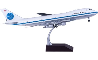 Geminijets 1:200 Pan Am 泛美航空 Boeing 747-100 N734PA
