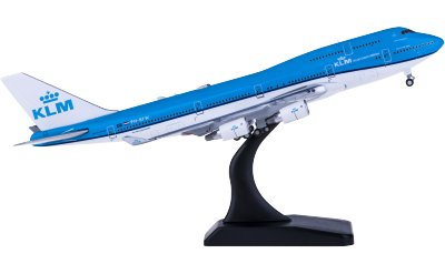 Geminijets 1:400 KLM 荷兰皇家航空 Boeing 747-400M PH-BFW