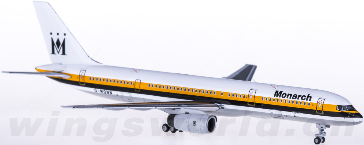 NG53082 Monarch Airlines 君主航空 Boeing 757-200 G-MONB