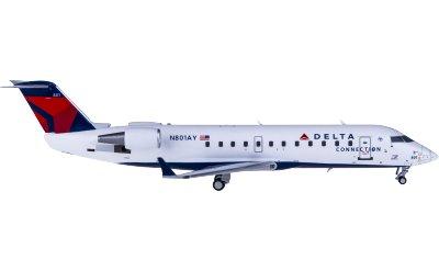 Delta Air Lines 达美航空 Bombardier CRJ200 N801AY