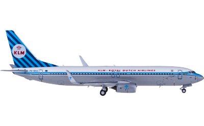 KLM 荷兰皇家航空 Boeing 737-800 PH-BXA 复古彩绘