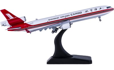 JC Wings 1:400 Shanghai Airlines 上海航空 McDonnell Douglas MD-11F B-2179 货机