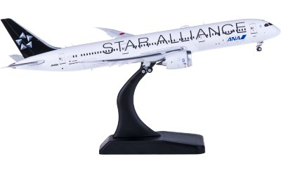 ANA 全日空 Boeing 787-9 Dreamliner JA899A 星空联盟 襟翼打开