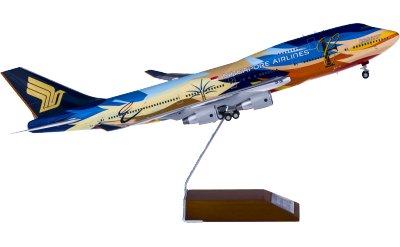JC Wings 1:200 Singapore Airlines 新加坡航空 Boeing 747-4009V-SPL 七色鸟