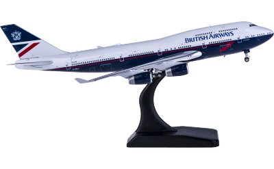 Phoenix 1:400 British Airways 英国航空 Boeing 747-400 G-BNLY
