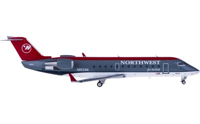 Northwest Airlines 西北航空 Bombardier CRJ200 N8524A