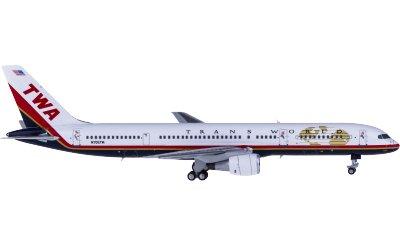 Ngmodel 1:400 TWA 环球航空 Boeing 757-200 N706TW