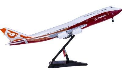 Boeing 747-8 N6067E 日出彩绘