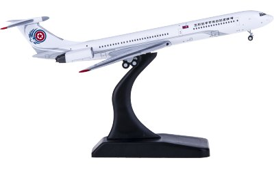 JC Wings 1:400 Ilyushin IL-62M P-618 朝鲜政府专机