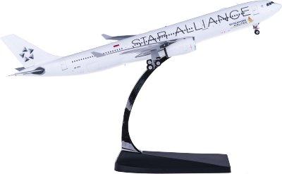Phoenix 1:200 Singapore Airlines 新加坡航空 Airbus A330-300 9V-STU 星空联盟