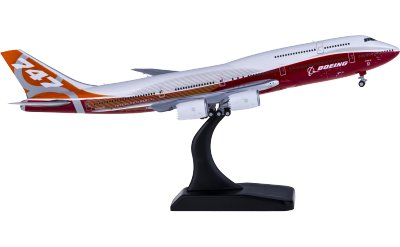 JC Wings 1:400 Boeing 747-8i N6067E 日出涂装