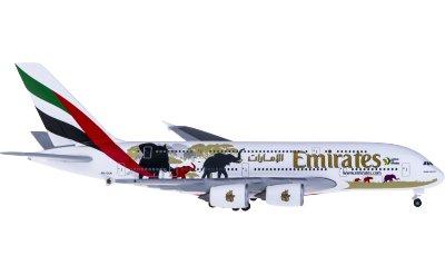 Emirates 阿联酋航空 Airbus A380 A6-EER 野生动物2号