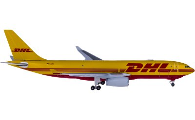 DHL 敦豪 Airbus A330-200F D-ALMA 货机