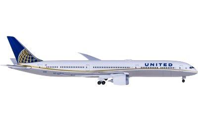 United Airlines 美国联合航空 Boeing 787-10 N14001