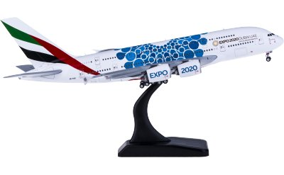 Geminijets 1:400 Emirates 阿联酋航空 Airbus A380 A6-EOC