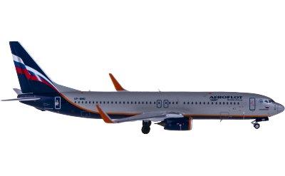 Ngmodel 1:400 Aeroflot 俄罗斯航空 Boeing 737-800 VP-BMO