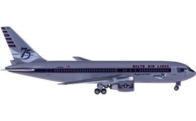 Delta Air Lines 达美航空 Boeing 767-200 N102DA 75周年