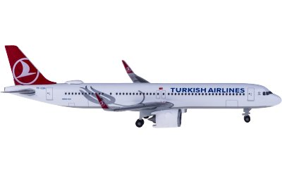 Turkish Airlines 土耳其航空 Airbus A321neo TC-LSA