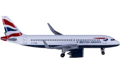British Airways 英国航空 Airbus A320neo G-TTNA