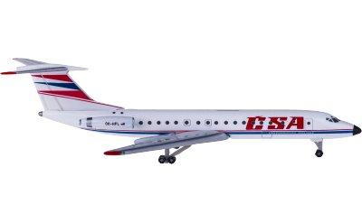 Czech Airlines 捷克航空 Tupolev TU-134A OK-HFL