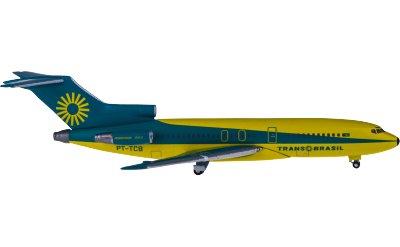 TransBrasil 环巴西航空 Boeing 727-100 PT-TCB