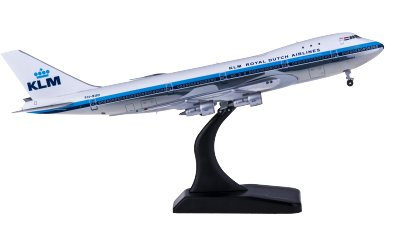 JC Wings 1:400 KLM 荷兰皇家航空 Boeing 747-200 PH-BUD